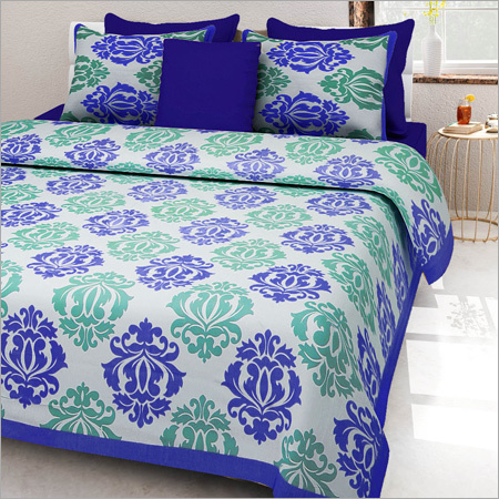 Designer Mugal Print Bed Sheet