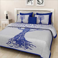 Tree Print Bed Sheet
