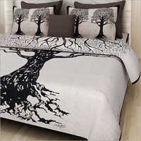 Tree Print Double Bed Sheet