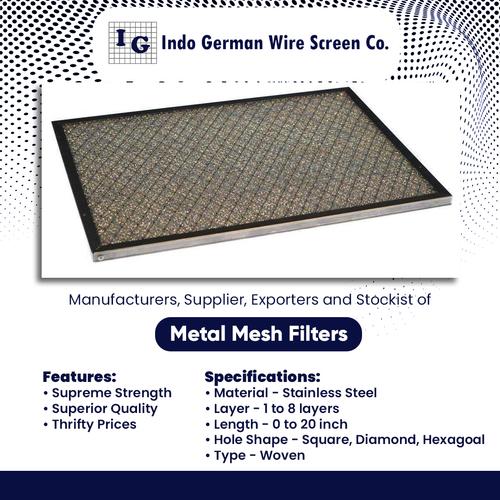 Metal Mesh Filter