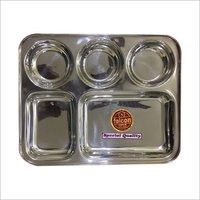 Stainless Steel Square Bhojan Thali