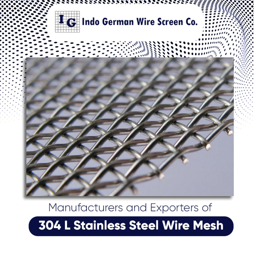 304 L Stainless Steel Wire Mesh