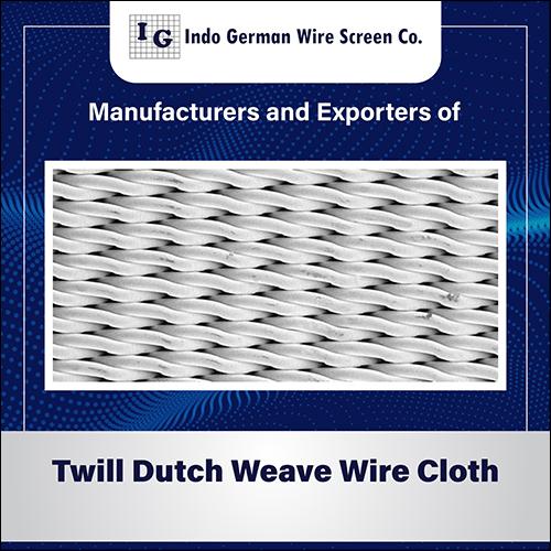 Twill Dutch Weave Wire Mesh