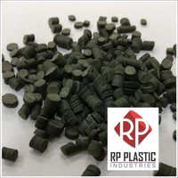 Reprocessed Rigid PVC Black Granules