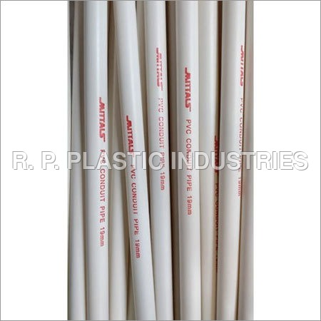 Virgin PVC Electrical Conduit Pipe