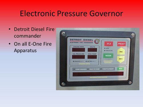 Pressure Governor