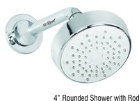 Round Shower With Rod