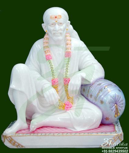 Marble Dwarkamai Statue