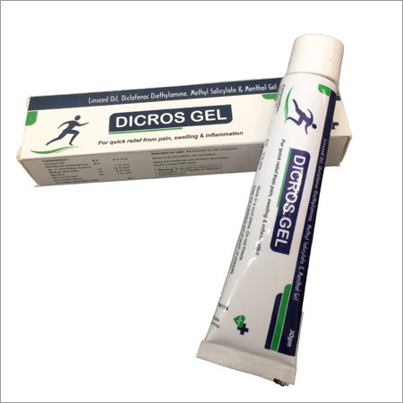 Diclofenac with Methyl Salicylate with Menthol with Linseed Oil 3%