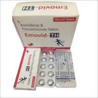Aceclofenac with  Thiocolchicoside