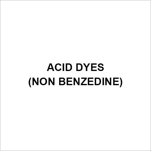 Acid Dyes (Non Benzedine)