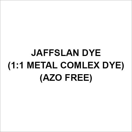 Jaffslan Dye (1-1 Metal Comlex Dye) (Azo Free)