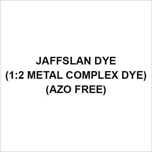 Jaffslan Dye (1-2 Metal Complex Dye) (Azo Free)