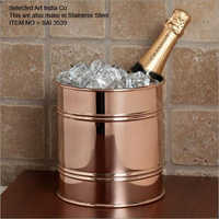 Copper Bar Ice Bucket