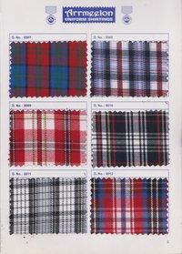 Kohinoor Checks Uniform Fabric