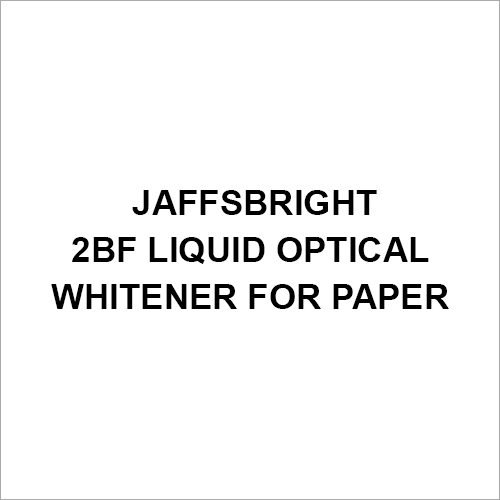 Jaffsbright 2Bf Liquid Optical Whitener For Paper