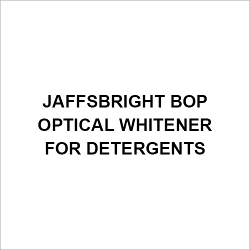 Jaffsbright BOP Optical Whitener For Detergents