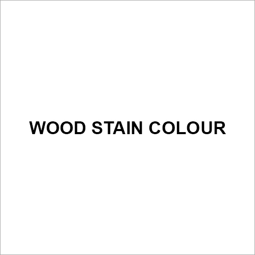 Wood Stain Colour