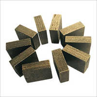 Diamond Segment For Quarrying Stone