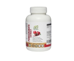 AE NATURALS Pomegranate Extract Capsules For Heart 90 Caps