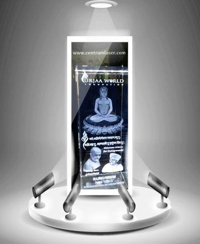 Guruji Religious Crystal Cubes