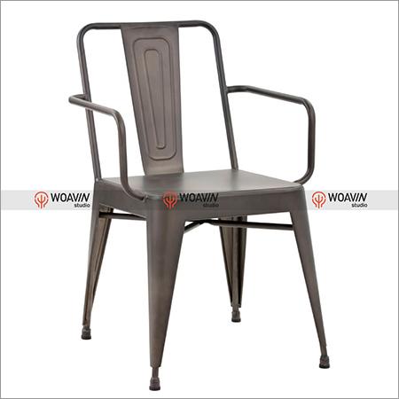 Tolix Bistro metal Armed Chair
