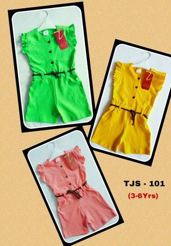 KIDS COTTON JUMPSUITS