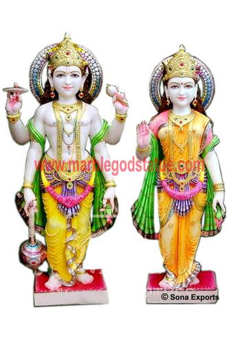Marble Laxmi Narayan Statue supplier