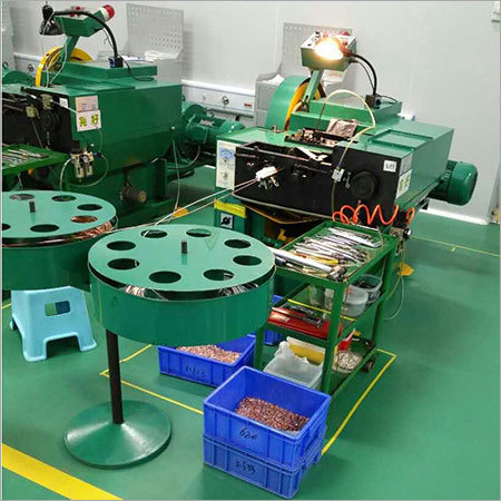 Bimetal Metal Contact Making Machine