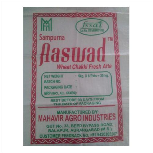 Flour Polypropylene Woven Bags