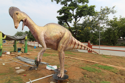 Evolution Park Corythosaurus