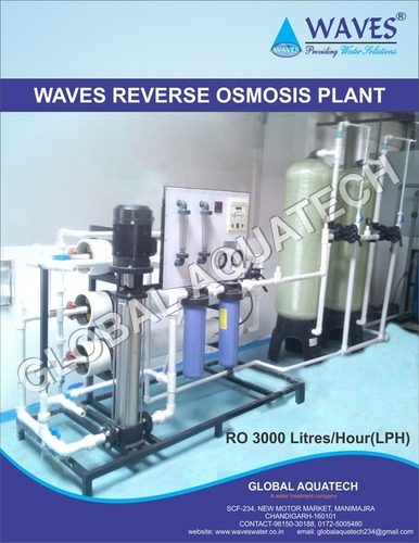 Automatic 3000 RO Plant
