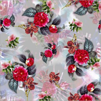 Poly Mercury GGT Digital Print Fabric