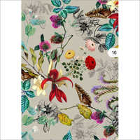 Muslin Digital Print Fabric