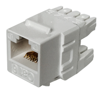 Cat6 UTP 180 degree 110 Keystone Jack