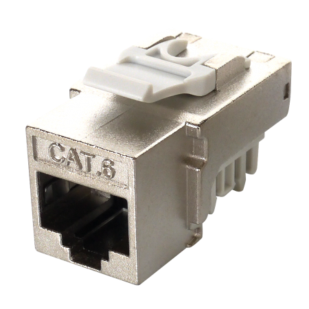 CAT6 STP 90 degree punch down, 110 TYPE