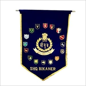 Military Official Zari Banners