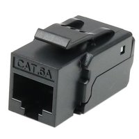 Cat6A UTP 90 degree toolless keystone jack