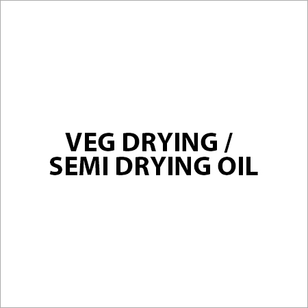 Veg Drying / Semi Drying Oil