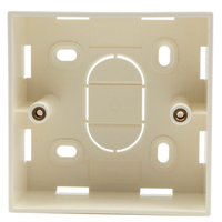 British Single gang RJ45 Mounting Box