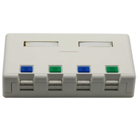 Unloaded Surface mounting box 4 port