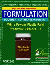 White Powder Plastic Paint Production Process-I
