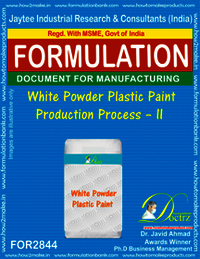 White Powder Plastic Paint Production Process–II
