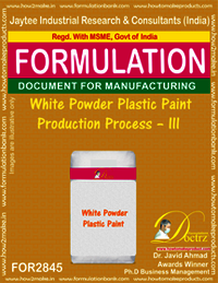 White Powder Plastic Paint Production Process–III