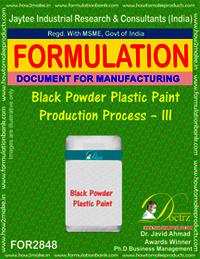 Black Powder Plastic Paint Production Process–III