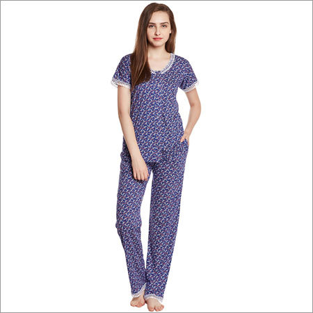 Ladies Blue Night Suit