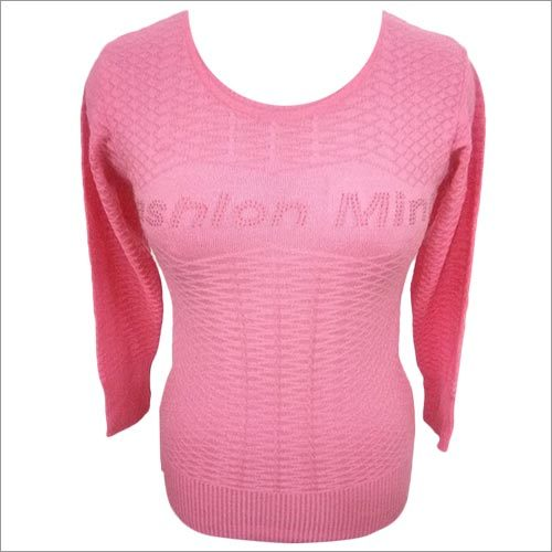 Pink Woolen Top