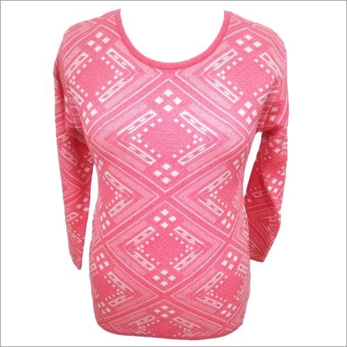 Round Neck Long Top