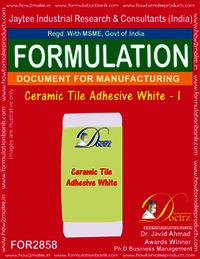 Ceramic Tile Adhesive White - I