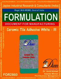 Ceramic Tile Adhesive White - III